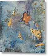 Cosmic 25 No.1 Metal Print by Rita Bentley