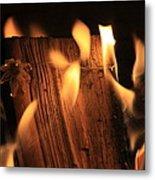Cosmic Fire Metal Print