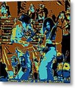 Cosmic Winter Blues 1975 Metal Print