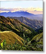 Costa Rica Rolling Hills 1 Metal Print
