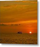 Costa Rica Sunset Metal Print