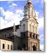 Cotacachi Cathedral Metal Print