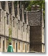Cotswold Almshouses Metal Print