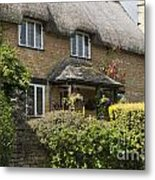 Cotswold Thatched Cottage Metal Print