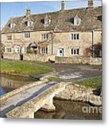 Cotswold Village Of Lower Slaughter Metal Print