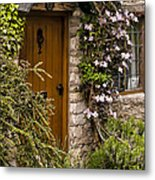Cottage At Castle Combe Metal Print