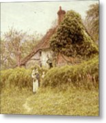 Cottage At Pinner Middlesex Metal Print