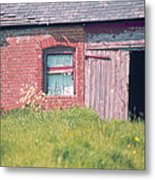 Cottage Barn England Home Counties Metal Print