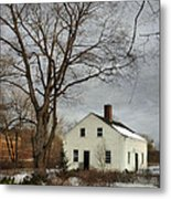 Cottage By The Mill Metal Print
