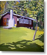 Cottage In Ludow Vermont Metal Print