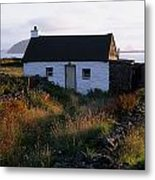 Cottage, Near Dunquin, Dingle Metal Print