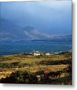 Cottage Near Renvyle, Connemara, Co Metal Print