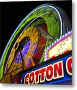 Cotton Candy Fun Metal Print