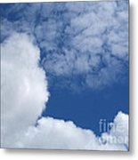 Cotton Clouds Metal Print