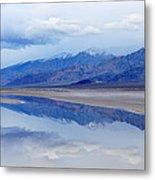 Cottonball Basin Death Valley Metal Print