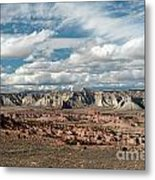 Cottonwood Canyon Badlands Metal Print