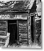 Cottonwood Jail Metal Print