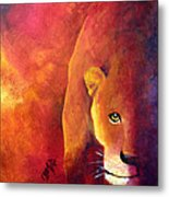 Cougar - Out Of The Shadows Metal Print