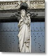 Count Your Blessings- St Mary Of Brugge- 01 Metal Print