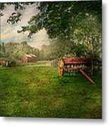 Country - The Crops Almost Ready  Metal Print