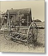 Country Classic Antique Metal Print