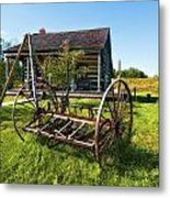 Country Classic Oil Metal Print