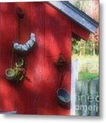 Country Decorating Metal Print