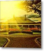 Country Estate Metal Print