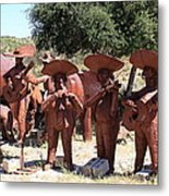 Country Music From Vail Lake Metal Print
