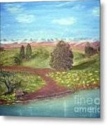 Country Summer Metal Print
