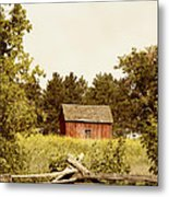 Countryside Metal Print by Margie Hurwich