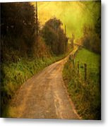 Countryside Road Metal Print