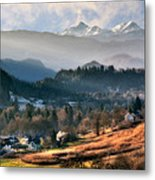 Countryside. Slovenia Metal Print