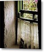 County Kerry, Ireland Cottage Window Metal Print