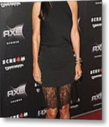 Courteney Cox Wearing The Row Metal Print by Everett
