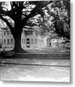 Courthouse And Town Square- Woodville Mississippi Metal Print