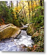 Courthouse River In The Fall 2 Metal Print