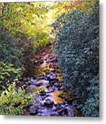Courthouse River In The Fall 3 Metal Print