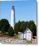 Cove Island Lighthouse Metal Print