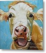 Cow 310 Metal Print