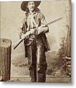 Cowboy, 1880s Metal Print by Granger