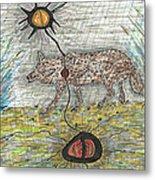 Coyote Spirituality Metal Print