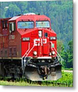 Cp Coal Train Metal Print