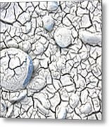 Cracked Earth Metal Print