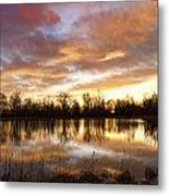Crane Hollow Sunrise Boulder County Colorado Metal Print by James BO  Insogna