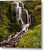Crater Lake Falls Metal Print