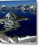 Crater Lake National Park, Oregon Metal Print