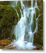 Crater Lake Vidae Falls Metal Print