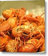Crawdad Delight Metal Print