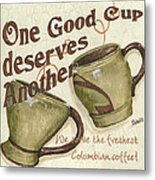 Cream Coffee 2 Metal Print